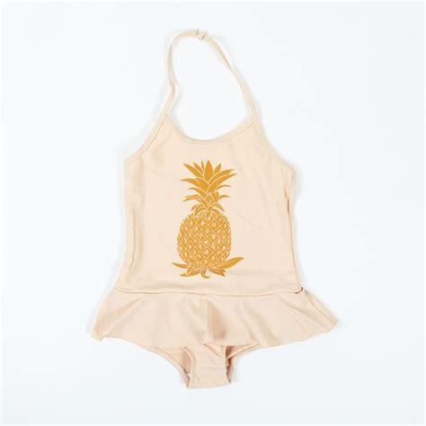 Pineapple Swimsuit pineapple swimsuit mini rodini ss13 kid s fashion all