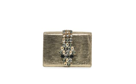 Roberto Cavallis Plain Patent Leather Clutch by Roberto Cavalli Clutch