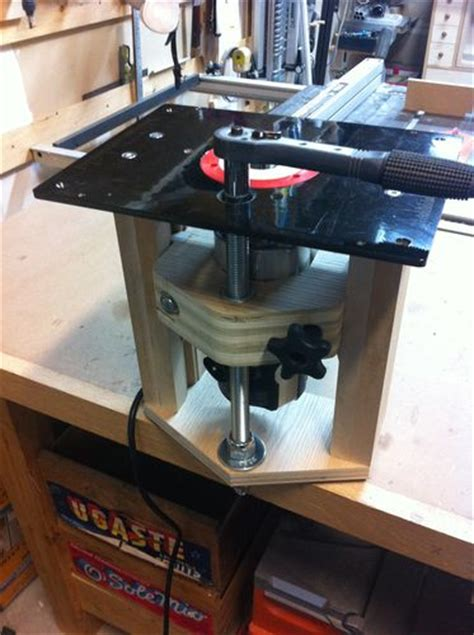 norm woodworking norm abram router table 3 router lift by litrenta