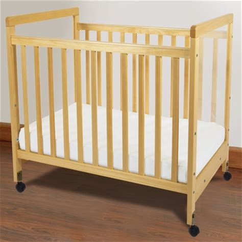 Foundations Mini Crib Foundations Safetycraft Compact Fixed Side Clearview Crib In Free Shipping