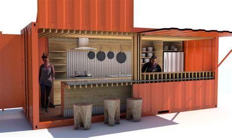 design gerobak usaha desain tempat usaha dari kontainer kenapa tidak rooang com