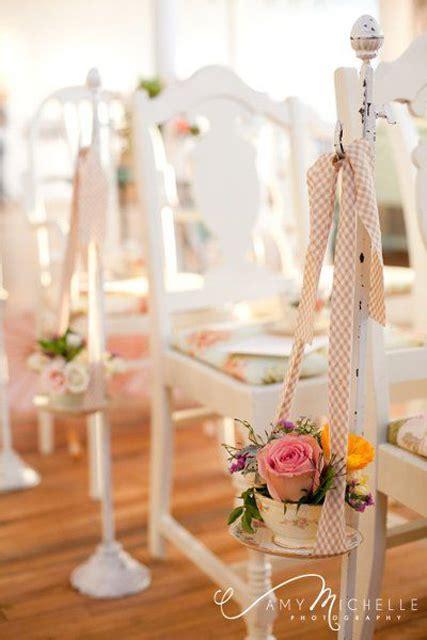 Vintage Wedding Aisle by Vintage Decor Ideas Tea Wedding Inspiration