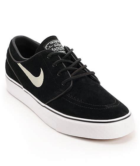 Nike Sb Suede nike sb zoom stefan janoski black suede shoes zumiez
