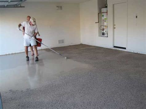 epoxy garage floor how to apply epoxy garage floor coating