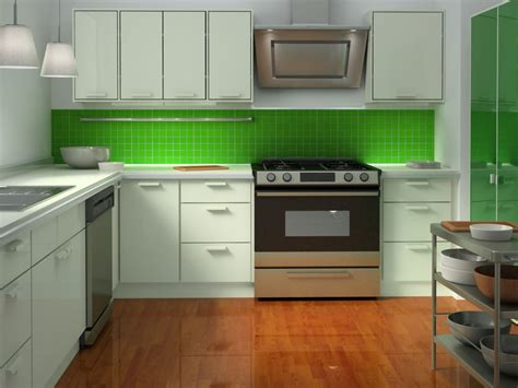 Green Kitchen Backsplash Tile Awesome Green Tiles For Kitchen The Addition Of Freshness Mykitcheninterior