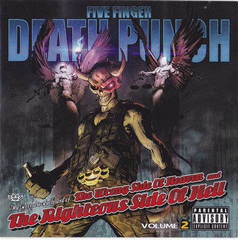 five finger death punch decal ffdp five finger death punch sticker album cd cover art