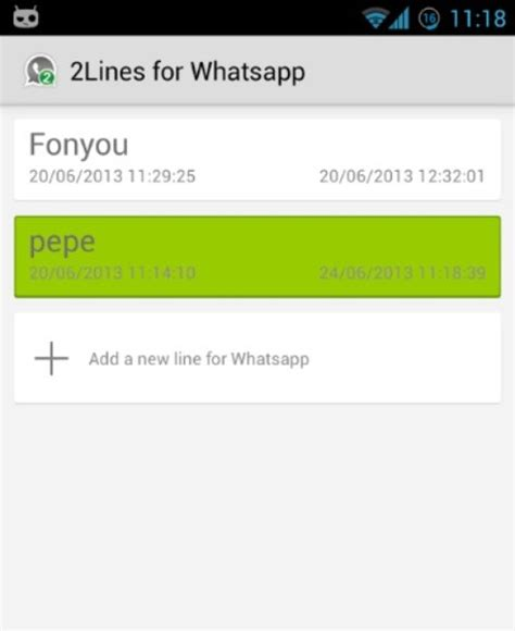 tutorial 2lines for whatsapp 2lines for whatsapp download techtudo
