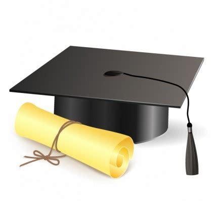 pendidikan topi belajar vektor universitas mahasiswa wisuda topi mortir papan diploma