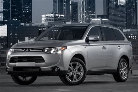 mitsubishi crossover 2014 2014 mitsubishi outlander crossover suv review new suv