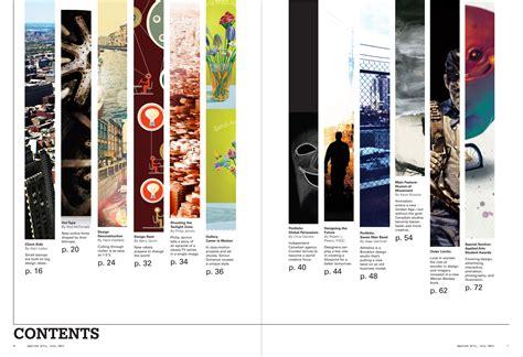 magazine layout contents magazine farzaddesign