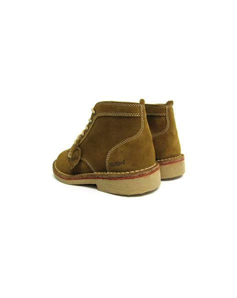Kickers Boots Suede kickers legendary boots in suede shoe