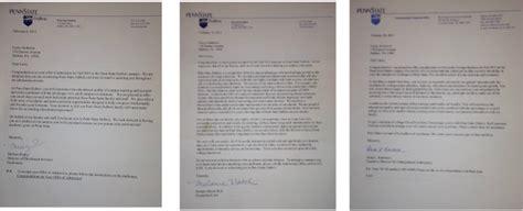 Acceptance Letter Penn State Awards