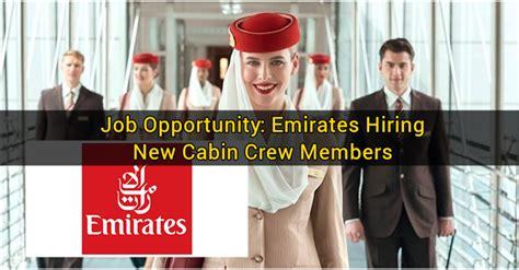 cabin crew hiring opportunity emirates hiring new cabin crew members