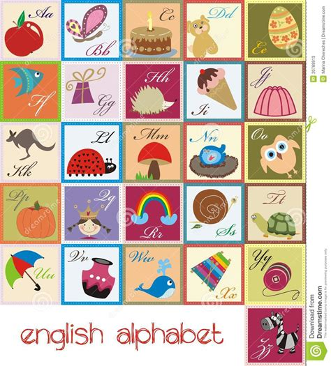 alfabeto completo con lettere straniere alfabeto ingl 234 s ilustra 231 227 o do vetor imagem de guarda