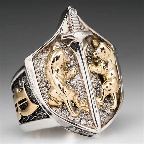 proclamation jewelry custom made mens shield