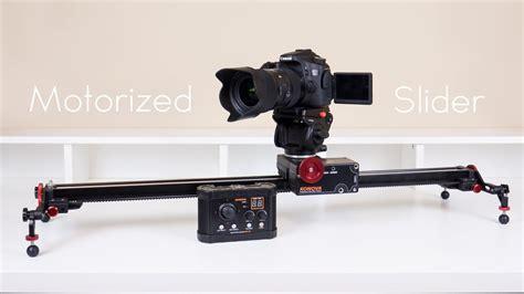 konova  motorized slider kit review youtube