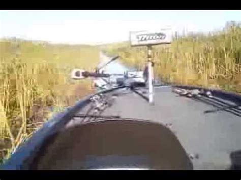 boat crash box crash on the big o lake okeechobee youtube