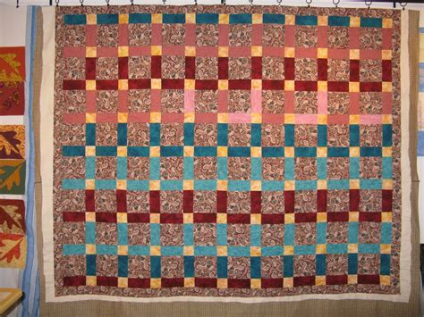 Split Nine Patch Quilt Pattern by Country Garden Quiltworks Split Nine Patch