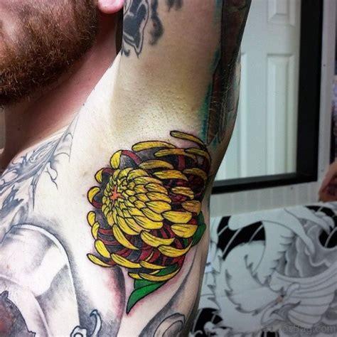 flower tattoo underarm 98 fantastic armpit tattoos