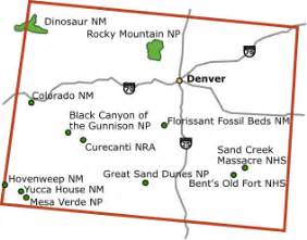 national parks in colorado map united states national parks wikitravel