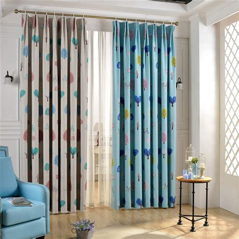 kids bedroom curtains nursery room curtains of tree patterns for kids bedroom