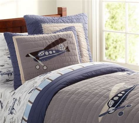 airplane bedding airplane bedding set boys pinterest