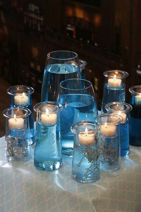 blue centerpieces blue centerpieces partylite ideas