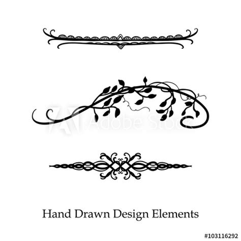 Which Designers Line Will You Buy by Vector Design Element Beautiful Fancy Curls And Swirls