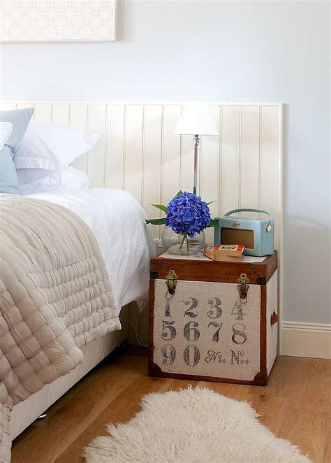 tables de chevet uniques pour une chambre originale