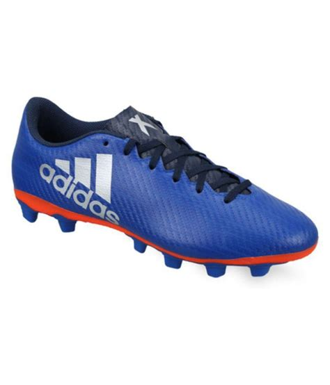 shoes football adidas adidas x 16 4 fxg blue football shoes buy adidas x 16 4