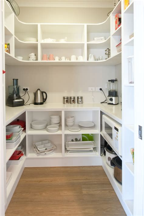 kitchen walk in pantry ideas a walk in pantry is a great storage saver but also has a little bit of a glam feel to it like