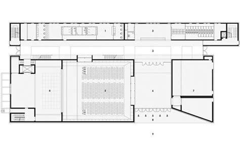 foyer grundriss multimediakomplex mut der hochschule f 252 r musik in