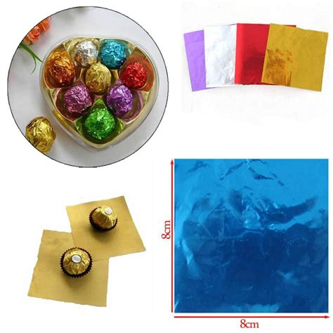 Orderan Cake Pop 100 Pcs 100pcs pack cake pop foil wrappers for chocolate lollipop pack on aliexpress