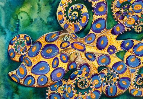 colorful octopus wallpaper blue ringed octopus wallpaper and background image