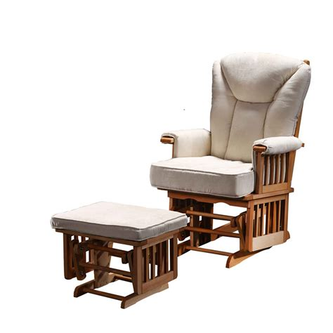 rocker bathroom nursery glider chair and ottoman rocking recliner chair