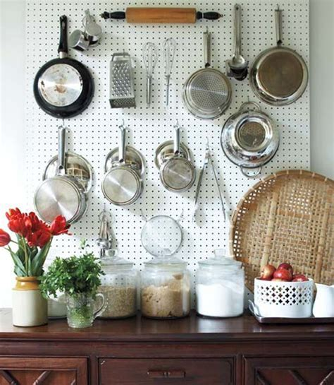 kitchen pegboard ideas 20 intelligent diy pegboard storage in your kitchen decorazilla design
