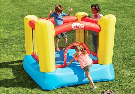 toys r us bounce house hot 99 99 reg 150 stats play inflatable bounce house free shipping