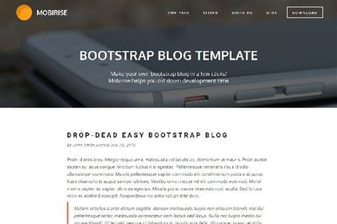 bootstrap free template