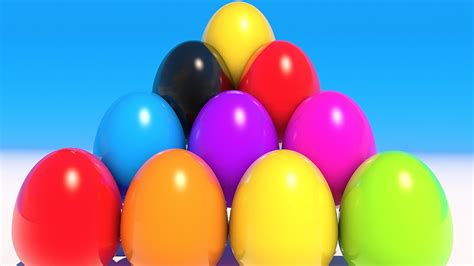 colorful eggs teach colors with colorful eggs
