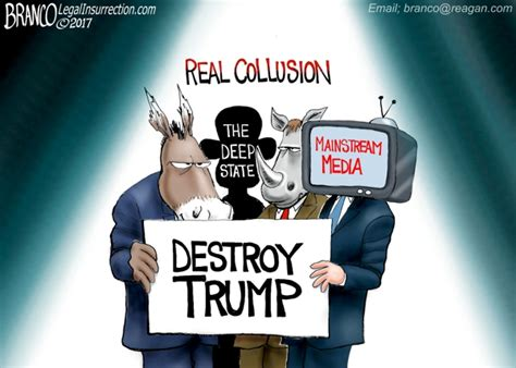the deepest state a satirical epic books the real collusion conspiracy is the dnc rinos the