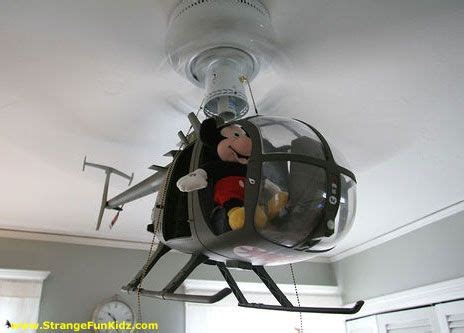 cool kids ceiling fan helicopter  magic  disney