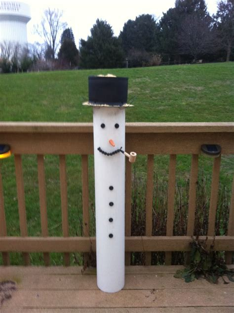 Pvc Bird Feeders pvc snowman bird feeder pvc pipe projects