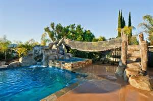 Best Backyard Pools For Kids 25 Fascinating Pool Bridge Ideas That Leave You Enthralled