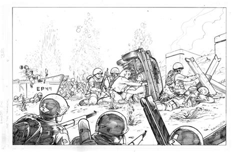 D Day Sketches by Paintball Artist Profile Ernesto S Paintball
