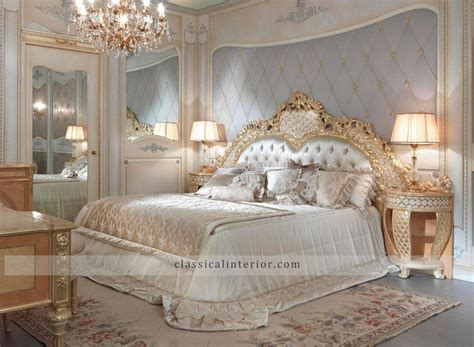 Italian Classic Bedroom Furniture 187 Golden Bedroom Go001btop And Best Italian Classic Furniture