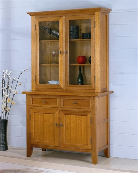 Hutch Branches Algrove 2 Door Drawer Galss Buffet And Hutch Bf0102