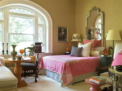 pink and orange bedroom traditional bedroom photos hgtv