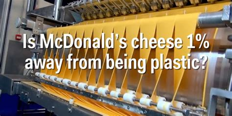 what is a made of facts about mcdonald s food business insider