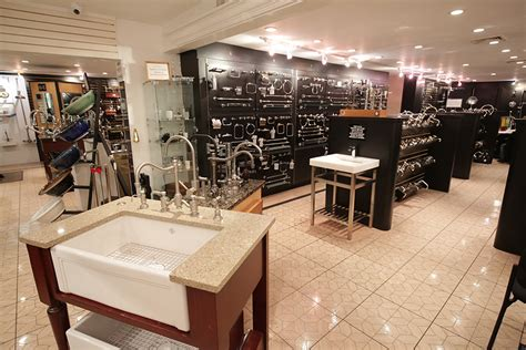 island s showroom for kitchen sinks faucets