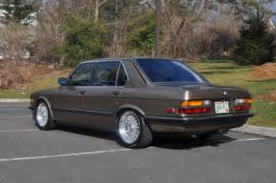 1985 Bmw 535i 1985 535i With A Turbo L33 V8 Engineswapdepot